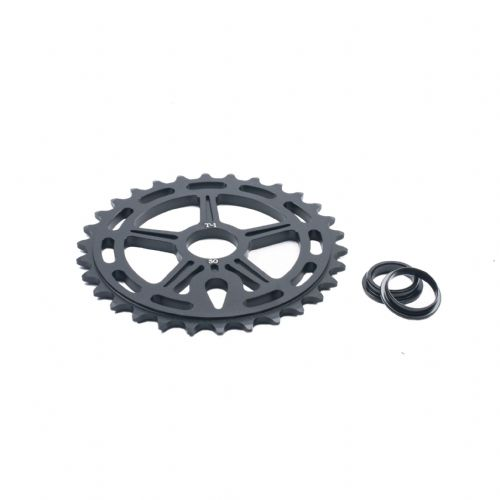 T1 Logan Runs Sprocket 28T Black